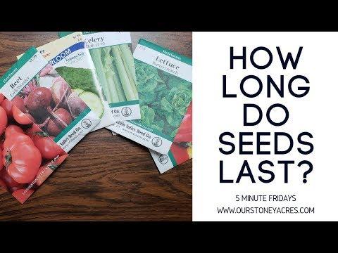 How Long Do Garden Seeds Last You