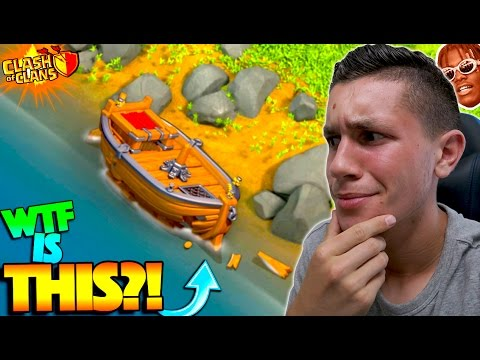 CLASH OF CLANS HAS A BOAT NOW?