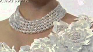 13 тысяч жемчужин на одном свадебном платье