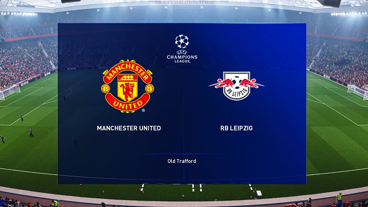 Manchester United Vs Rb Leipzig Ucl 28 October 2020 Gameplay Youtube