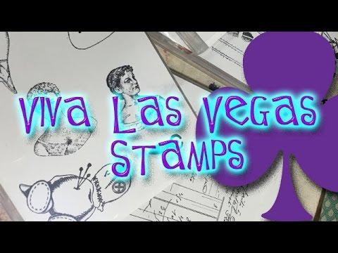 Viva Las Vegas Stamps