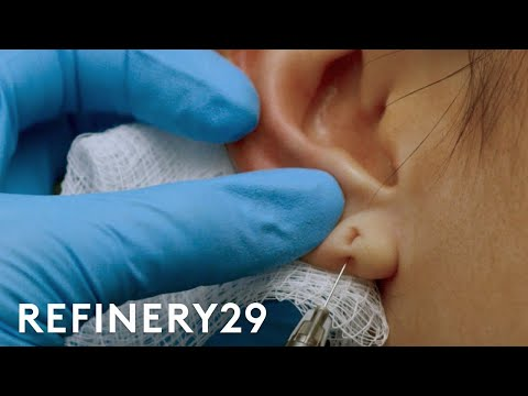 The 15 Minute Fix To Stretched Piercing   Macro Beauty   Refinery29