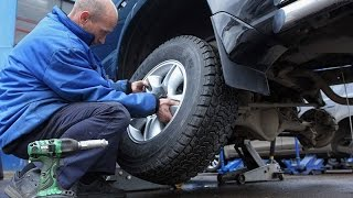 видео Безопасность зимних и летних шин на дорогах