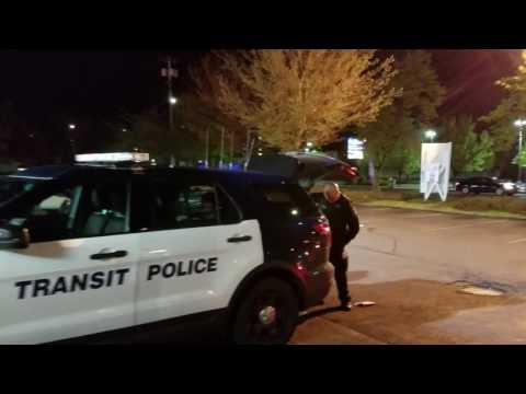 man arrested for drug possession by Transit police