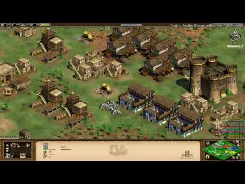 Aoe2 HD: 4v4 Black Forest (Turks, Fast Imperial Age) (6/18/13)