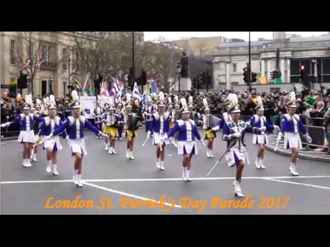 St Patrick's Day Parade London 2017 {plus}