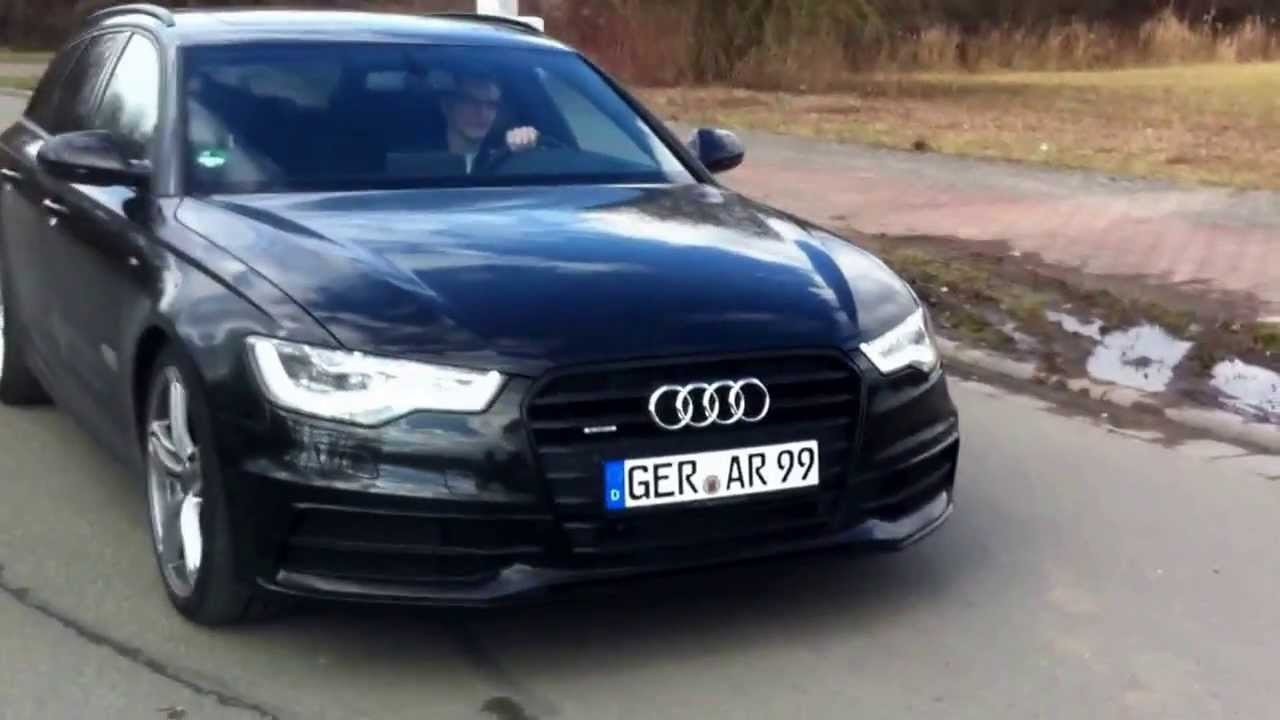audi a6 3 0 tdi quattro 313ps exhaust sound youtube. Black Bedroom Furniture Sets. Home Design Ideas