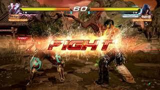 Tekken 7: Yoshimitsu vs. Jin Kazama (Commentary)