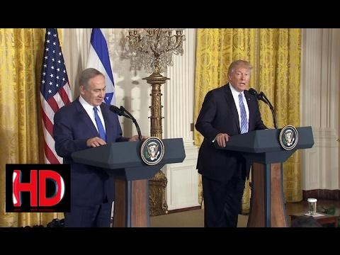 Donald Trump news,WATCH: President Donald Trump Press Conference with Israeli Prime Minister Benjam