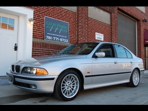1999 BMW 540i E39 with Sport Package Walkaround Presentation at