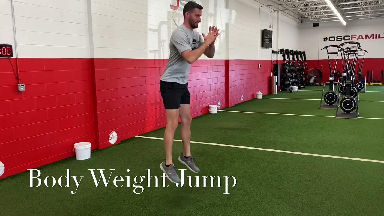 Body Weight Leg Workout
