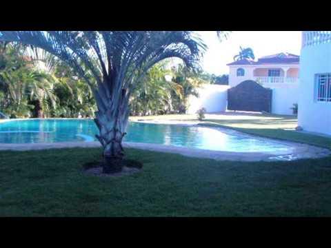 Villa in Sabaneta Dominican Republic For Sale - Luxury Tropical Island Home and Retreat