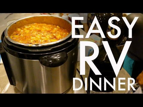 EASY SUNDAY DINNER for a CROWD : RV Fulltime w/9 Kids