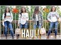 HAUL! STYLING FALL OUTFITS FROM VICI!