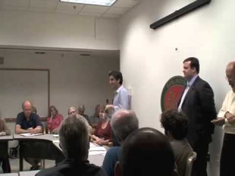 Miro Weinberger Speaks at the Burlington Democratic Party Re-Organization Meeting
