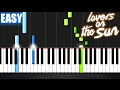 Download David Guetta - Lovers On The Sun - EASY Piano Tutorial by PlutaX
