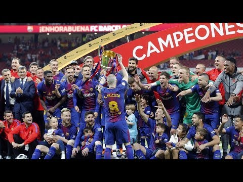 The only game Fc barcelona play his classic football this season ( copa del rey final )