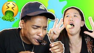 Eating WEIRD Food Combinations! | SLICE n RICE 🍕🍚