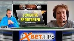 Sportwetten Experten-Talk mit Wett-Profi Joachim - Folge 02 - Lukrative Sportarten und Wettarten