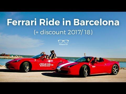 Drive Me Barcelona - Ferrari Ride and Sailing (DISCOUNTS 2017)