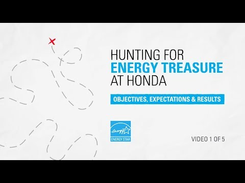 Hunting For Energy Treasure at Honda: Objectives, Expectations, and Results