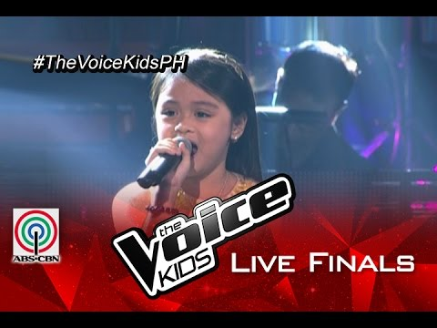 """The Voice Kids Philippines 2015 Live Finals Performance: """"Somewhere"""" by Esang"""