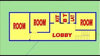 HOME DESIGN MAP 204 (15X45)