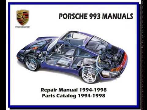 porsche 993 1994 1998 service manual wiring diagram spare rh youtube com porsche 993 turbo service manual porsche 993 repair manual