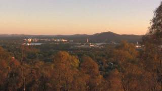 The Dawn of a New Year over Canberra
