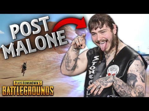 POST MALONE Streaming PUBG..!! | Best PUBG Moments and Funny Highlights - Ep.108