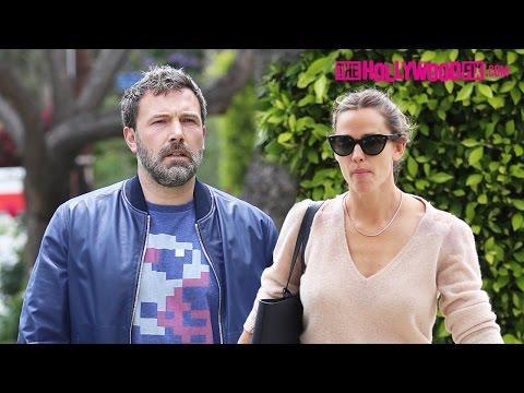 Ben Affleck & Jennifer Garner Take Their Kids To Sunday Morning Church Service After Divorcing