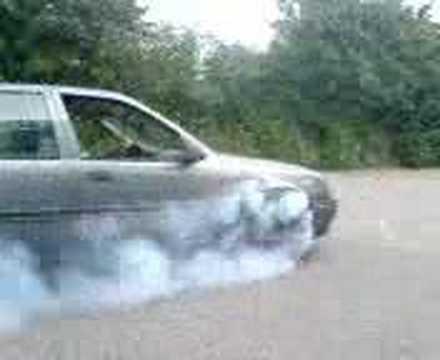 Opel Vectra 2.0i Burnout