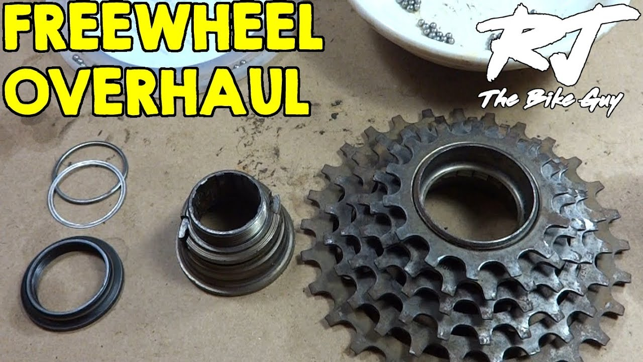 Bicycle Freewheel Disassembly/Assembly