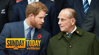 Prince Philip's Funeral: Prince Harry Will Attend Without Meghan Markle | Sunday TODAY