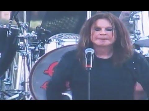 Ozzy Osbourne Moonstock Aug 21 2017 (eclipse) - setlist + live video