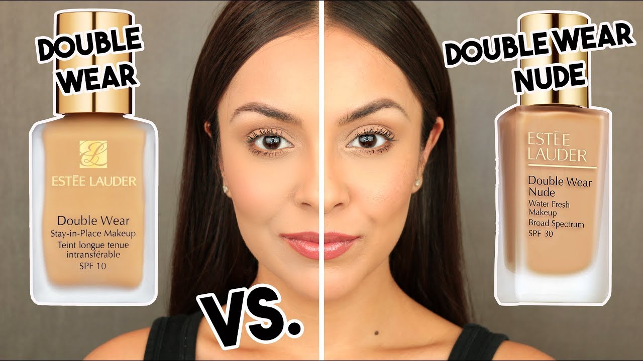 Estee lauder double wear nude water fresh foundation vs for Fresh naked pics