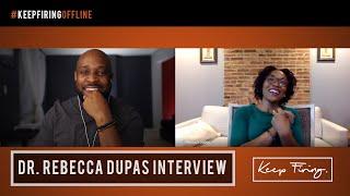 Author Rebecca Dupas Talks Policing Black Children, Ambition, and Her New Book! | #KeepFiringOffline