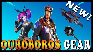 "NEW ""OUROBOROS GEAR"" SKIN in FORTNITE - NEW ""SCOPED REVOLVER"" WEAPON COMING SOON // Playing With SUB"