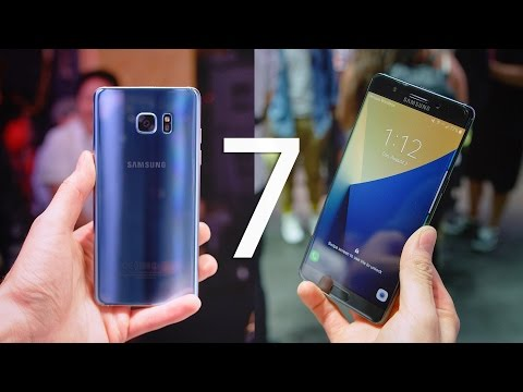 Galaxy Note 7 - Top 10 Features!