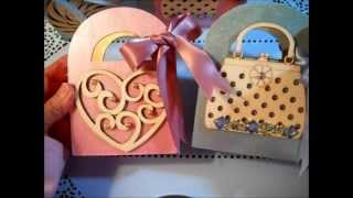Decorated Spring Wood Baskets Or Boxes (from $1 Unfinished Box)