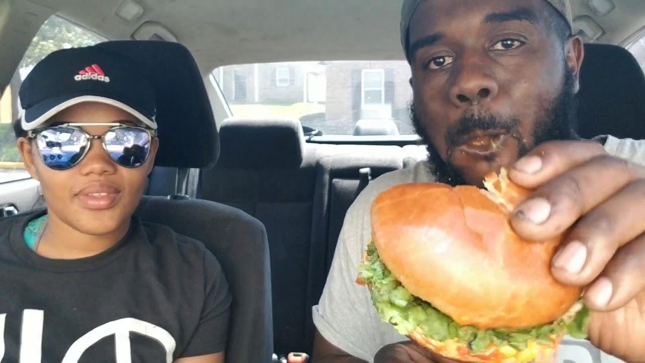 Vegan Pizza Sub and Lentil Burger vegan bacon cheeseburger