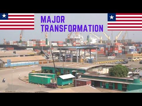 LIBERIA'S PORT MAJOR TRANSFORMATION   MONROVIA LIBERIA 2020   #MONROVIALIBERIA2020   LIBERIAAFRICA