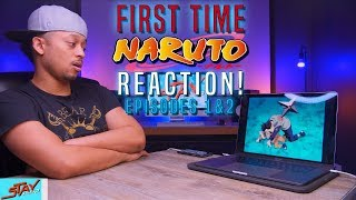 FIRST TIME Watching Naruto Episode 1 & 2 REACTION!
