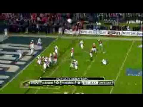 Nebraska Vs. Arizona (Holiday Bowl) 2009 Football