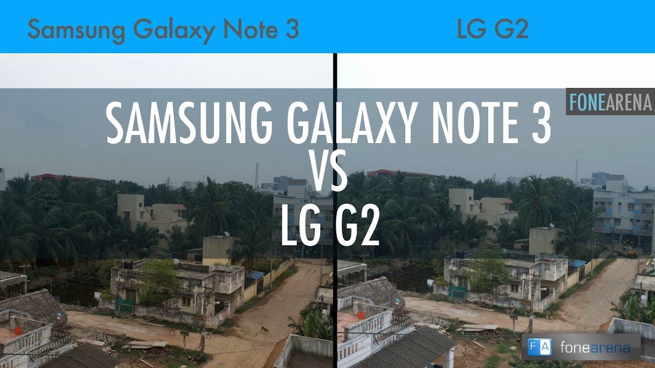 Samsung Galaxy Note 3 Vs LG G2 Camera Comparison - YouTube