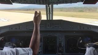 ATR-72-600 de Aeromar despegando del aeropuerto de tuxtla gutierrez por pista 14