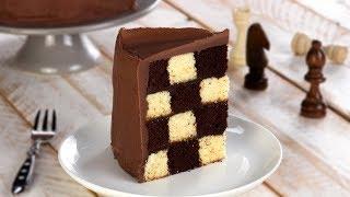Schach Kuchen Rezept für eine saftige schwarz weiss Torte zu besonderen Anlässen