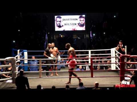 """Le Combat Patrice Quarteron vs James """"the beast"""" Wilson (en entier, qualité HD)"""