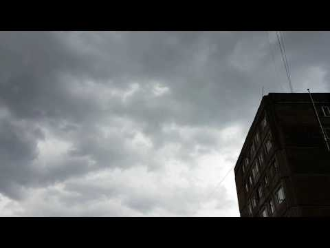 Cloudy sky in Yerevan