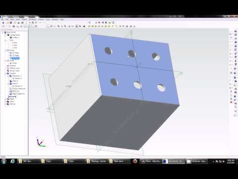 Alibre Design CAD 2011 (Geomagic) Demo Tutorial & Overview